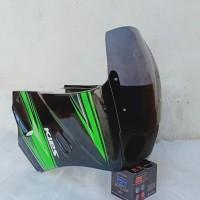 Fairing ninja R S model KR150 SSR plus Lampu proji