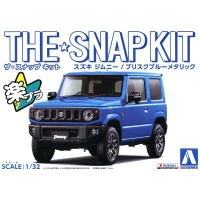 Aoshima 05778 1/32 SNAP KIT Suzuki Jimny (Brisk Blue Metallic)