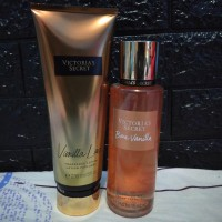 Parfum dan Body Lotion Victoria Secret Vanilla Lace Original Import