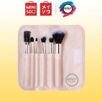 Brush Makeup MINISO Kit Kuas Makeup Brush Spons Kosmetik Set