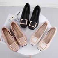 Flat Shoes Wanita Gio Saverino OSLO Loafers Empuk Sepatu Balet