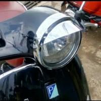 topi lampu head lampu vespa LX / aksesoris vespa LX