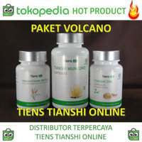vitamin pria Paket Volcano tiens 100% asli.. Garansi uang kembali