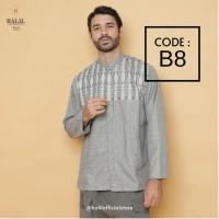Baju Muslim/ Kurta/ Baju Koko Pria/ Gamis Pakistan Halil/ Halil B8