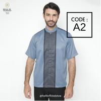 Baju Muslim/ Kurta/ Baju Koko Pria/ Gamis Pakistan Halil / Halil A2