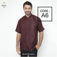 Baju Muslim/ Kurta/ Baju Koko Pria/ Gamis Pakistan Halil / Halil A6