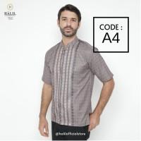 Baju Muslim/ Kurta/ Baju Koko Pria/ Gamis Pakistan Halil / Halil A4