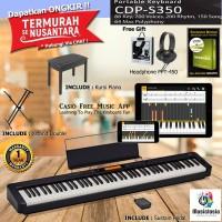 Casio CDP S350 + Kursi / Casio CDP S 350 Slim Digital Piano Garansi