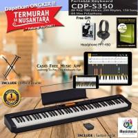 Casio CDP S350 / Casio CDP S 350 Slim Digital Piano Garansi Resmi