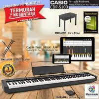 Casio CDP S100 + Kursi / CDP S 100 / CDP-S100 / Digital Piano Garansi