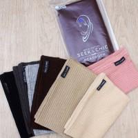 Inner Hijab Seek N Chic Stripe Premium- ciput bandana daleman kerudung