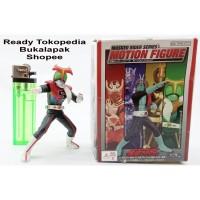 Banpresto Masked Rider Stronger Kamen Rider Motion Figure Artikulasi
