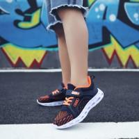 Sepatu fashion anak laki-laki baru olahraga sepatu kasual rendah