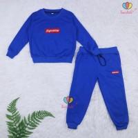 Setelan Atta Kids 7-8 Th Sweater Jogger Celana Baju Lengan Panjang An