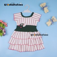 Dress Nayla uk Bayi 3-12 bulan Yukensi Lucu Dres Anak Perempuan Baju
