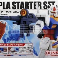 Bandai Gundam High-Grade Kits 1/144 HG Gunpla Starter Set Vol.2 Murah