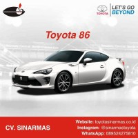 Toyota 86 Booking Fee Only