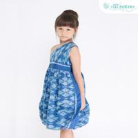 Lil' Notre Dress Tenun Anak/Raina Dress/Blue Teal