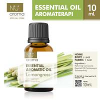 Nu Aroma Essential Aromatic Oil Lemongrass / Serai