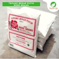 Tepung Beras Putih 500 Gram Ketan Rose Brand Premium Sayur Ijo Segar