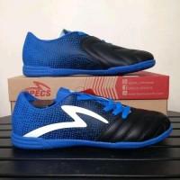Sepatu futsal specs equinox black tulip blue 400772 original Murah