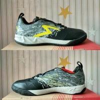 Sepatu futsal murah specs metasala warrior black toast signal 400780