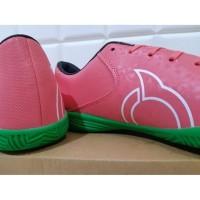 ORIGINAL Sepatu Futsal OrtusEight Blitz IN Light Red White Black Gree