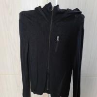 Jaket Armani Exchange Zipper Hoodie Original Size S