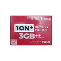 PERDANA SMARTFREN 1ON 3gb ada bonus kuota 13GB SUDAH AKTIF 1 TAHUN