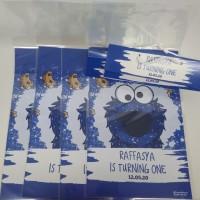 plastik snack elmo cookies / kantong snack elmo cookies