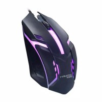 MOUSE WIRED GAMING / MOUSE GAMING RGB / MOUSE KABEL USB - Hitam