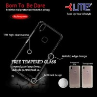 Case Anti Crack Softcase Xiaomi Redmi 5+ Plus - Free Tempered Glass