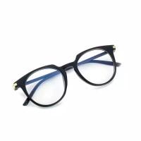 kacamata bulat frame anti radiasi