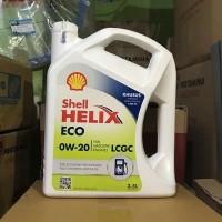 oli shell helix eco LCGC sae 0w-20 isi 3.5 liter