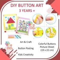 JOY SMART TOYS DIY BUTTON ART AND CRAFT MAINAN EDUKASI ANAK 3 TAHUN - BOY