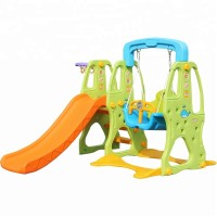 Big Toys Playground colorfull plastic baby slide and swing set Baby