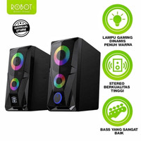 Speaker Aktif ROBOT RS200 Stereo Gaming 3.5mm