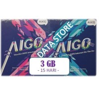 Voucher Axis MINI Aigo 3 GB 15 Hari