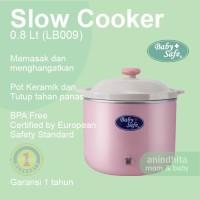 BABYSAFE Slow Cooker 0.8L dengan Light Indicator Slowcooker Baby Safe