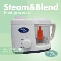 BABYSAFE Baby Food Maker Steam and Blend | Baby Food Processor