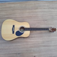gitar akustik elektrik samick ori natural gloss D 310 N