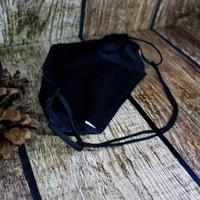 Masker Kain Scuba Hijab 3 ply ada Kompartment Tissue