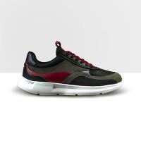 Sepatu Sneakers - Fuka Midnight Crimson Original