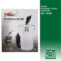 topka lw 603 b lw603b 603b external filter canister aquarium aquascape