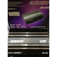 Power 4 Channel Audiobose V12 2500 Watt AB 450 Audio mobil baru