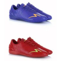 Sepatu futsal specs Accelerator exocet in merah + ungu