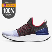 Sepatu Lari Nike React Phantom Run Flyknit 2 BLACK RED ORBIT Original