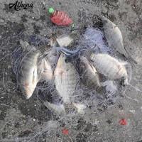 Promo!!! Jaring Pancing Ikan Lempar Bahan Tembaga