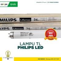 Lampu NEON TL-D Philips Lifemax 36Watt, 36W, 36 Watt, 36 W