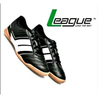 League Original Classico Majestic Sepatu Futsal - Black White Diskon